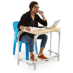 Single Senior Desk in a Box