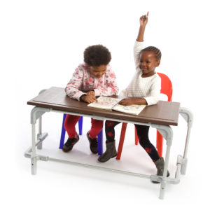 Junior Double Desk - Desk in a Box