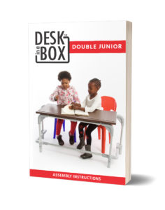 Double Junior Desk in a Box Instructional Booklet