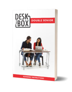 Double Senior Desk in a Box Instructional Booklet